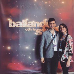Andrea Vighi e Chiara Benati a Ballando con le Stelle