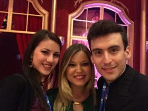 Andrea Vighi e Chiara Benati a Ballando con le Stelle con Anastasia Kuzmina