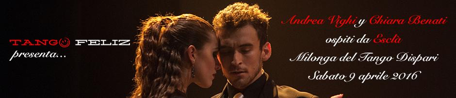 Andrea Vighi y Chiara Benati Evento Tango Escla Bologna