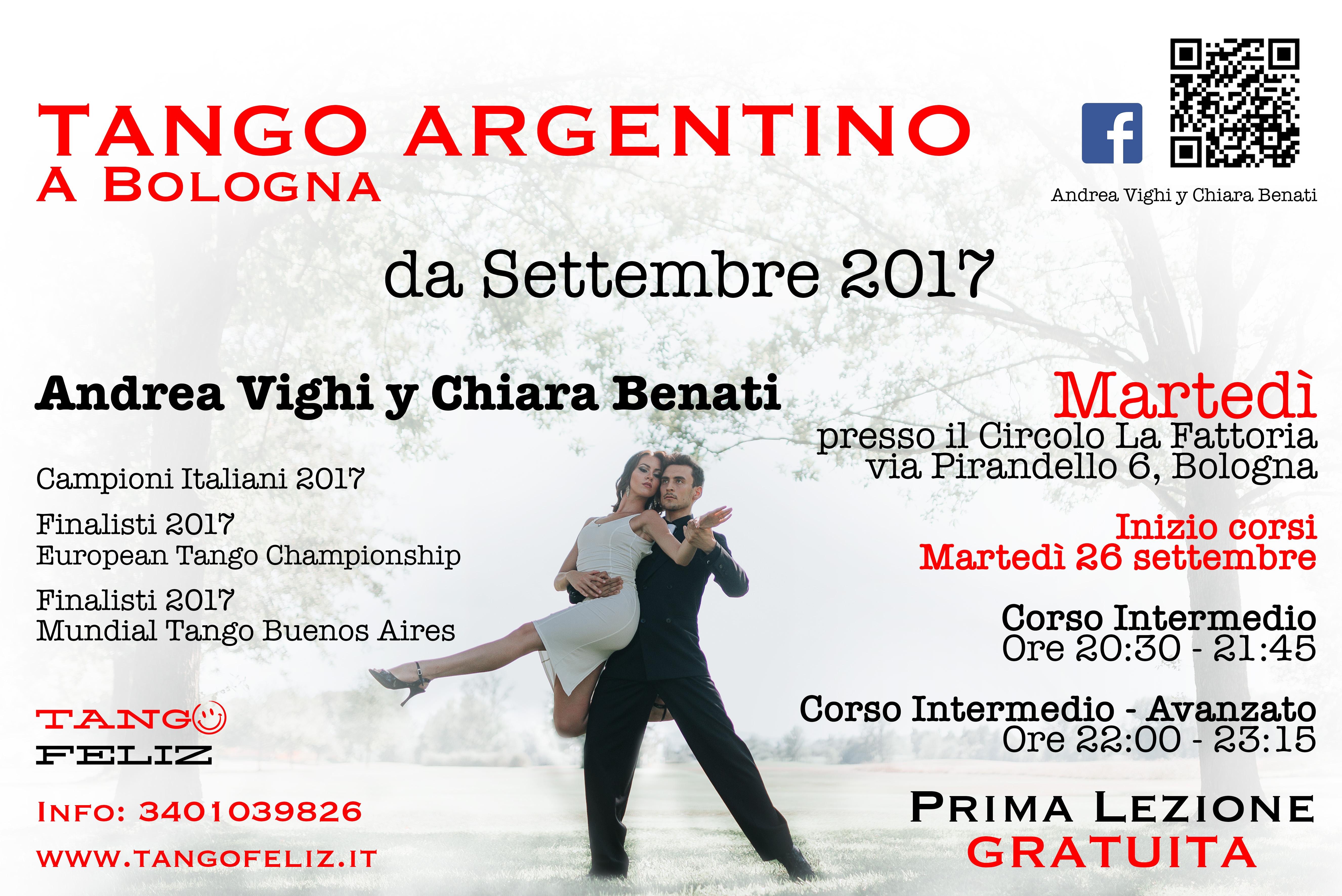corsi di tango a Bologna Martedì